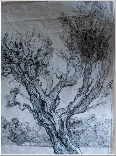 Peinture d'encre de Chine